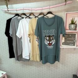 Cami tigre PLUS 5 colores