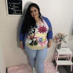 Pantalon Yolanda liso CURVY...