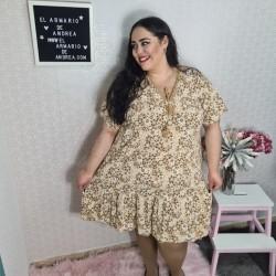 Vestido margarita PLUS