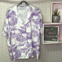 Camisa selva PLUS morada