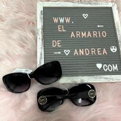 Gafas redondas negras