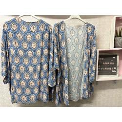 Kimono Sevilla azul vaquero