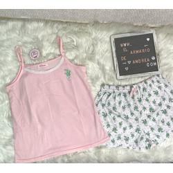 Pijama cactus rosa