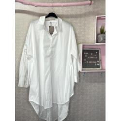 Camisa basica blanca PLUS