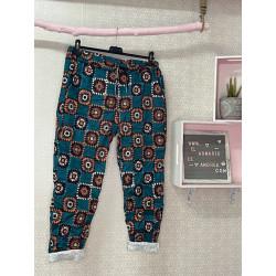 Pantalón patchwork...